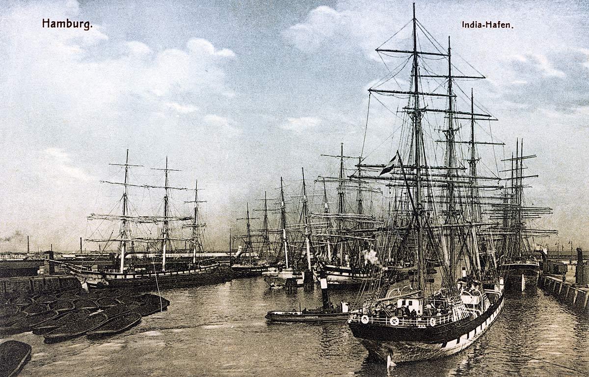 Hamburg India Harbour