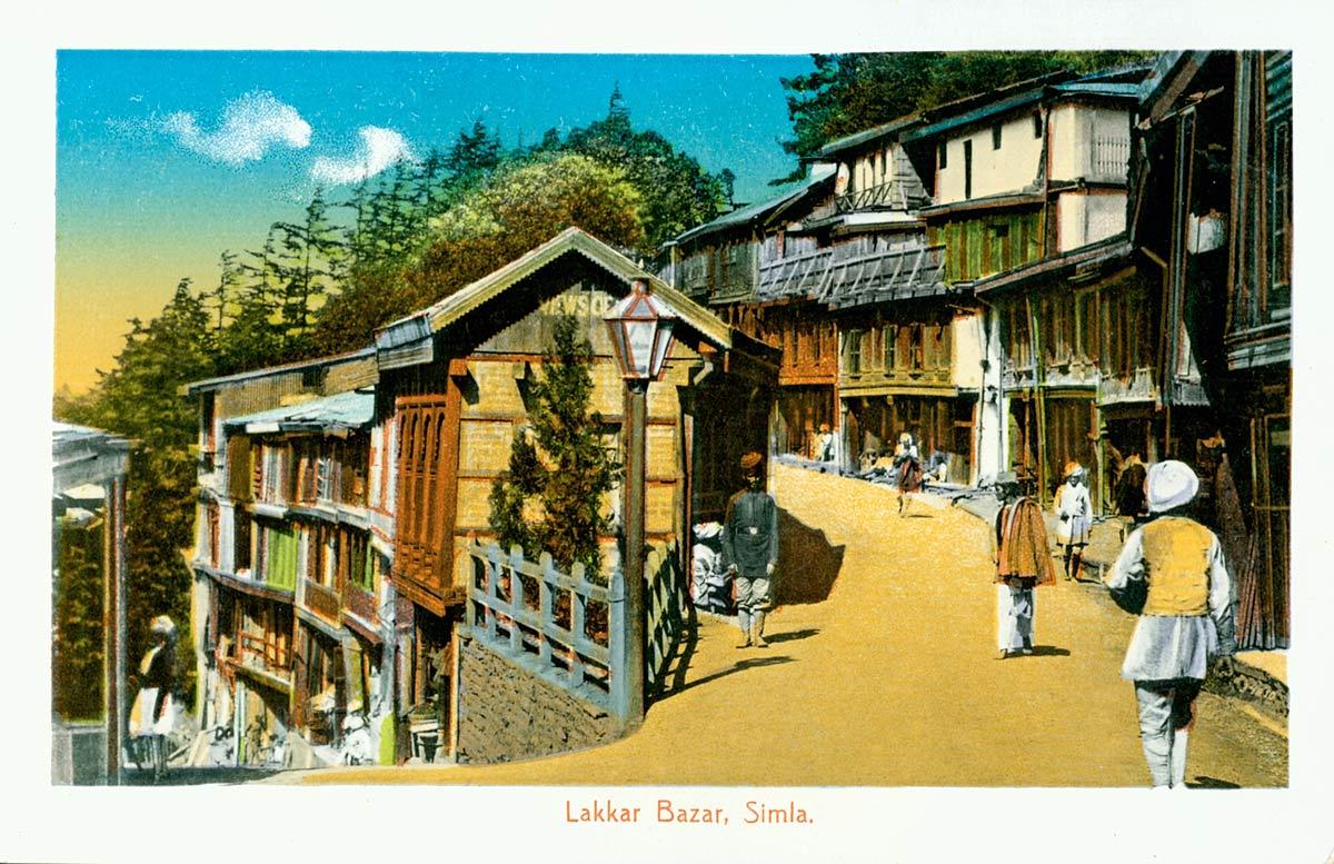 Lakkar Bazaar, Simla