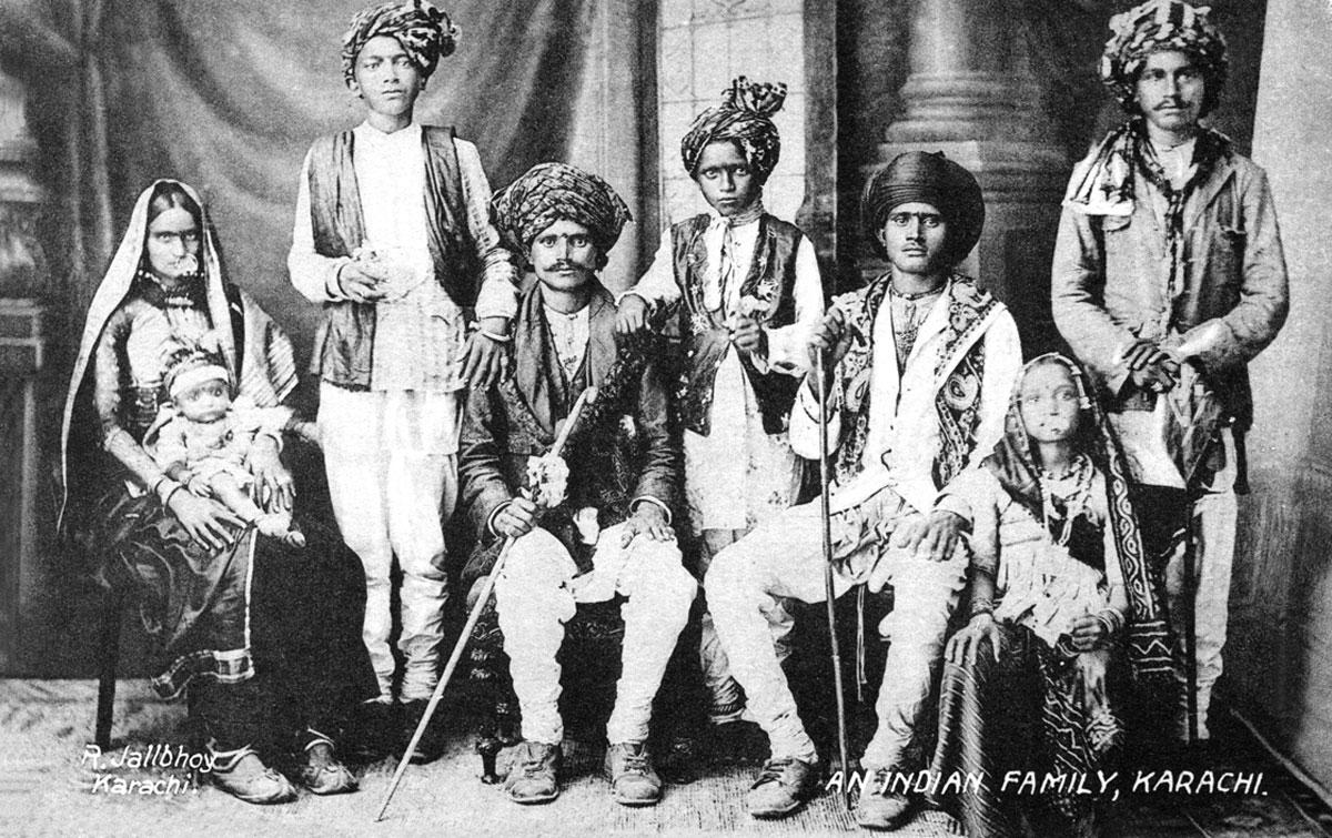An Indian Family, Karachi