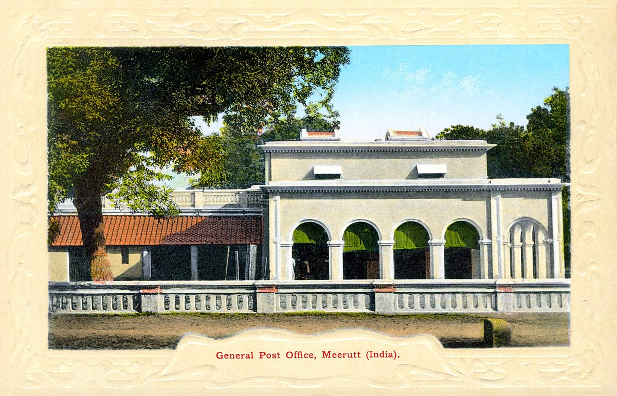 General Post Office, Meerutt (India)