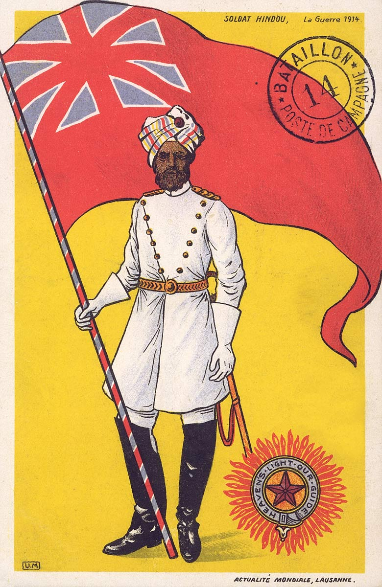 Indian Soldier, World War I