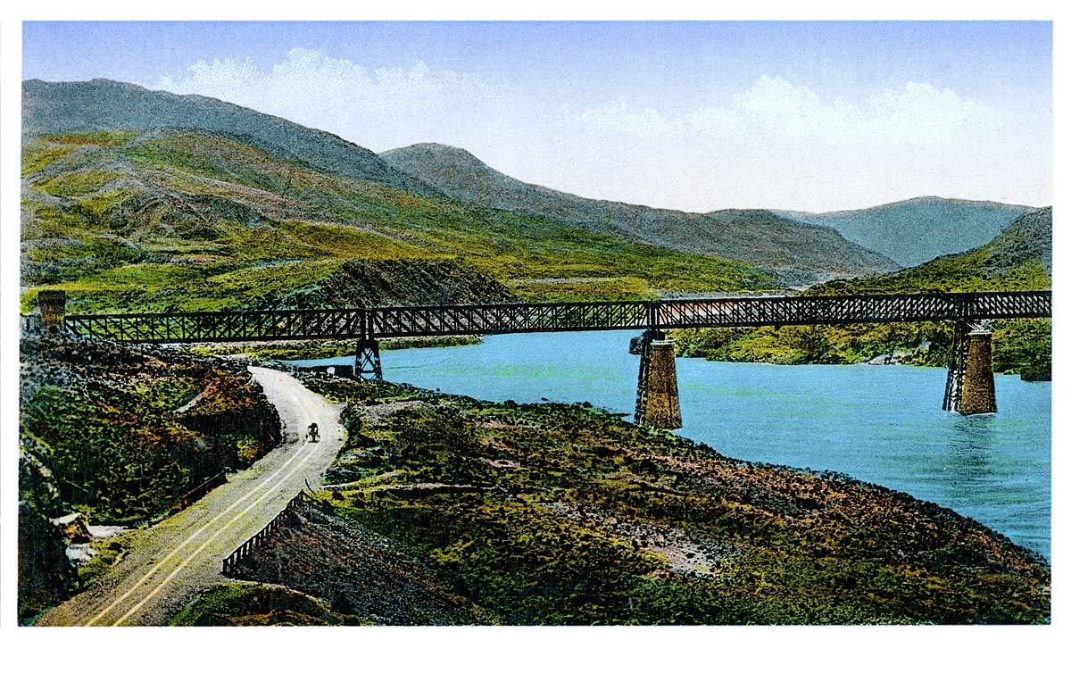 Indus Flood, Attak Bridge, Bridge, Attack