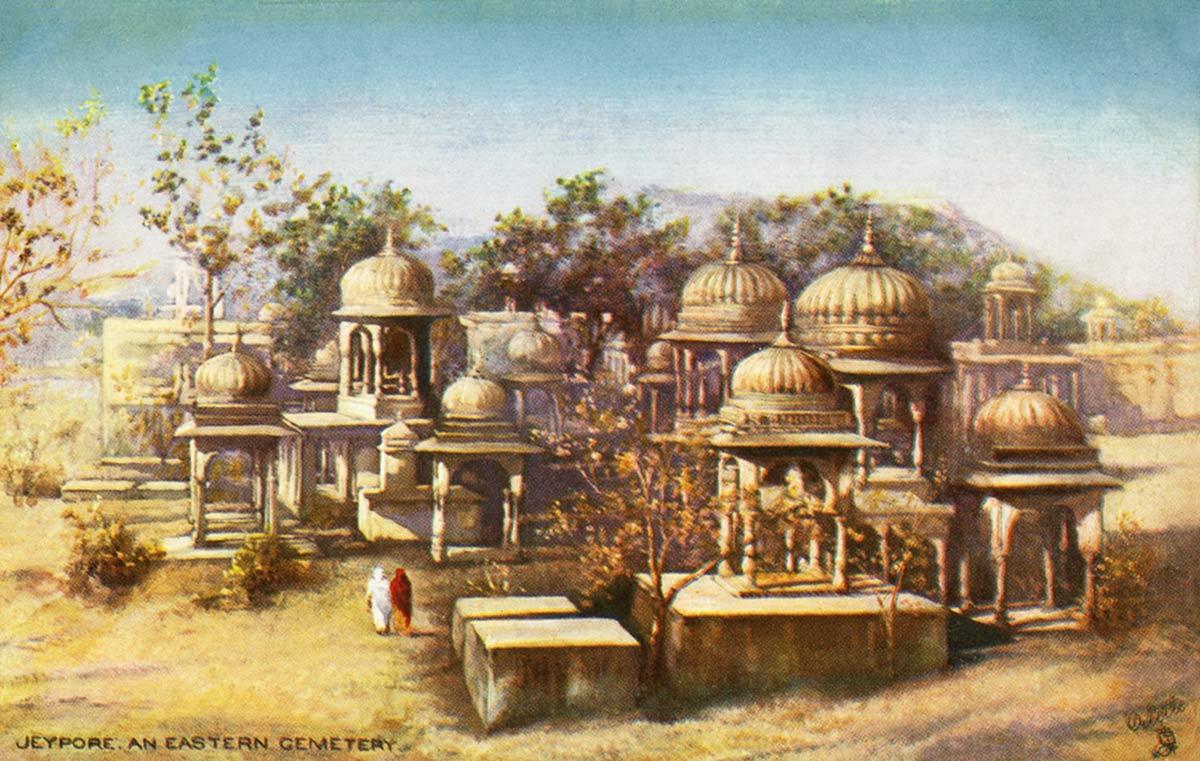 Jeypore. An Eastern Cemetery
