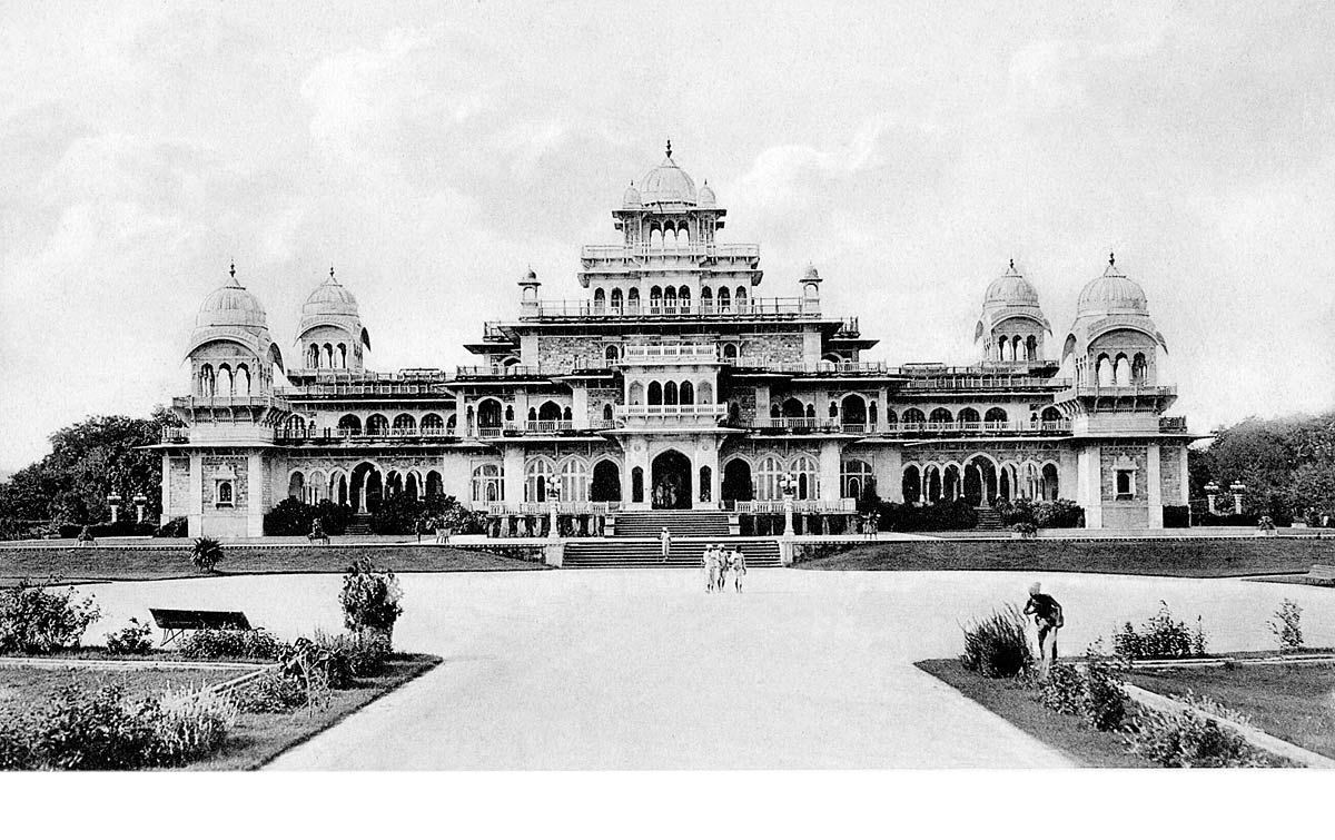Albert Hall, Front view. Jaipur.