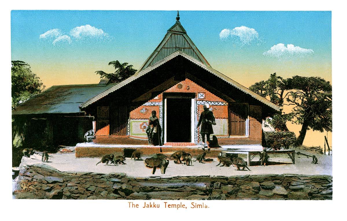 The Jakku Temple, Simla
