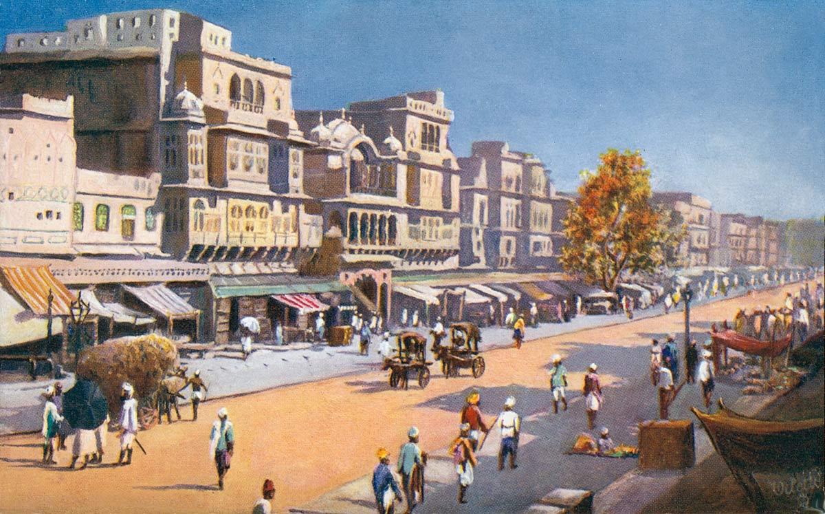 Jeypore. Johari Bazaar.