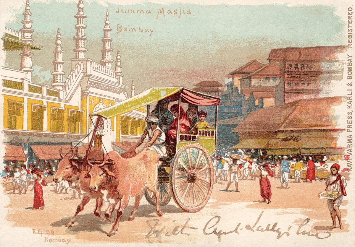 Jumma Masjid Bombay