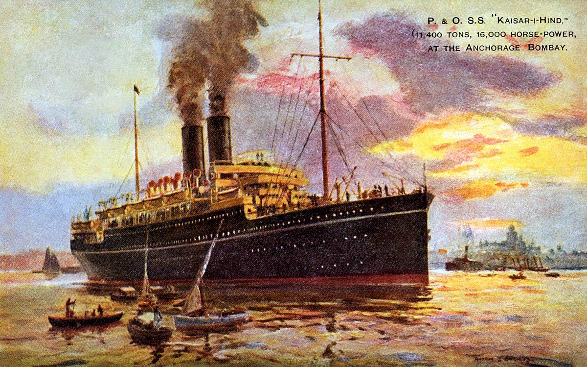 P. & O. S.S. Kaiser-i-Hind [Emperor of India]