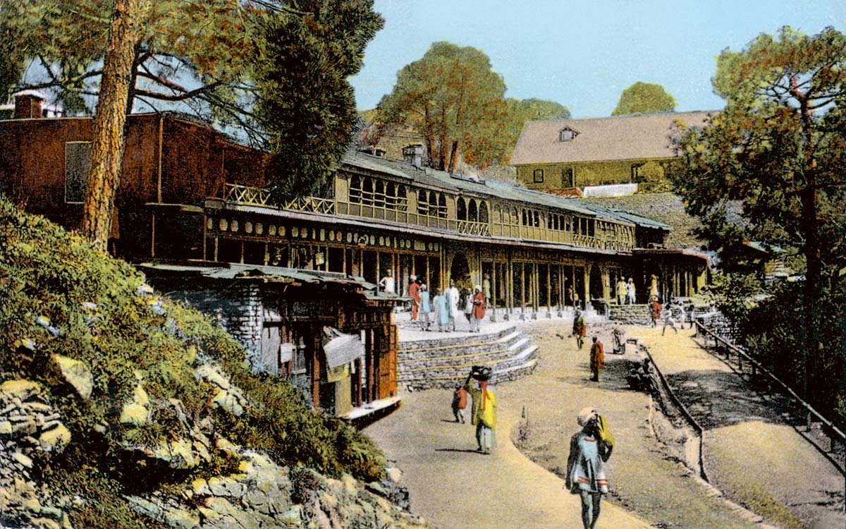 The Market, Kasauli