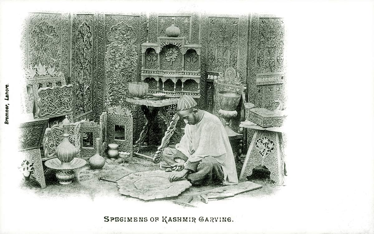 Specimens of Kashmir Carving