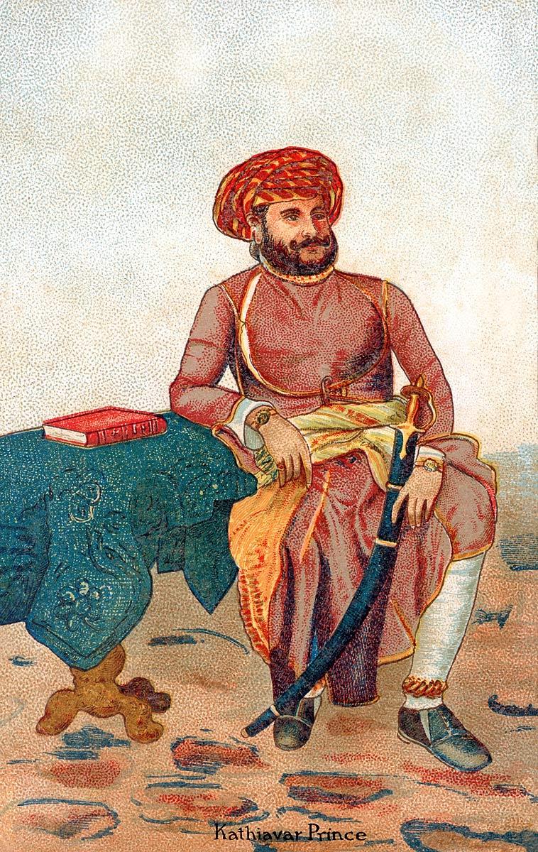 Kathiawar Prince