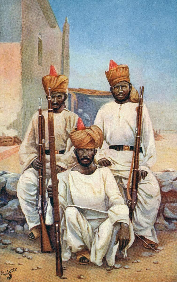Sepoys Khyber Rifles