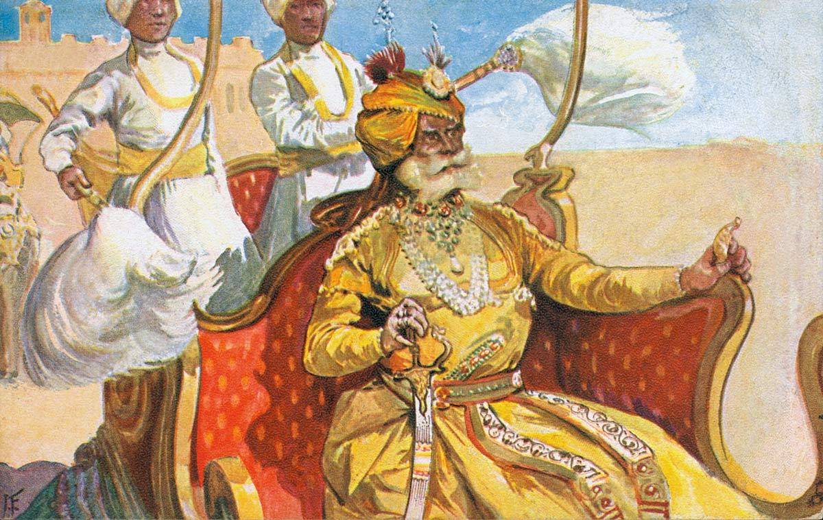 A Typical Maharajah
