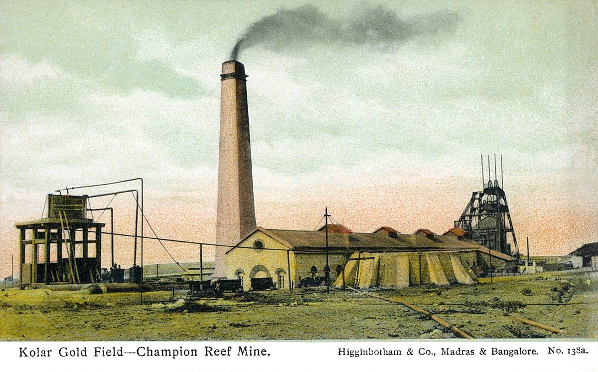 Kolar Gold Field - Champion Reef Mine