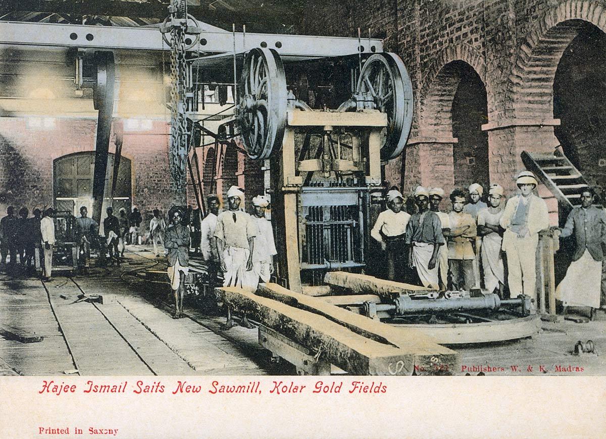 Hajee Ismail Saits New Sawmill, Kolar Gold Fields