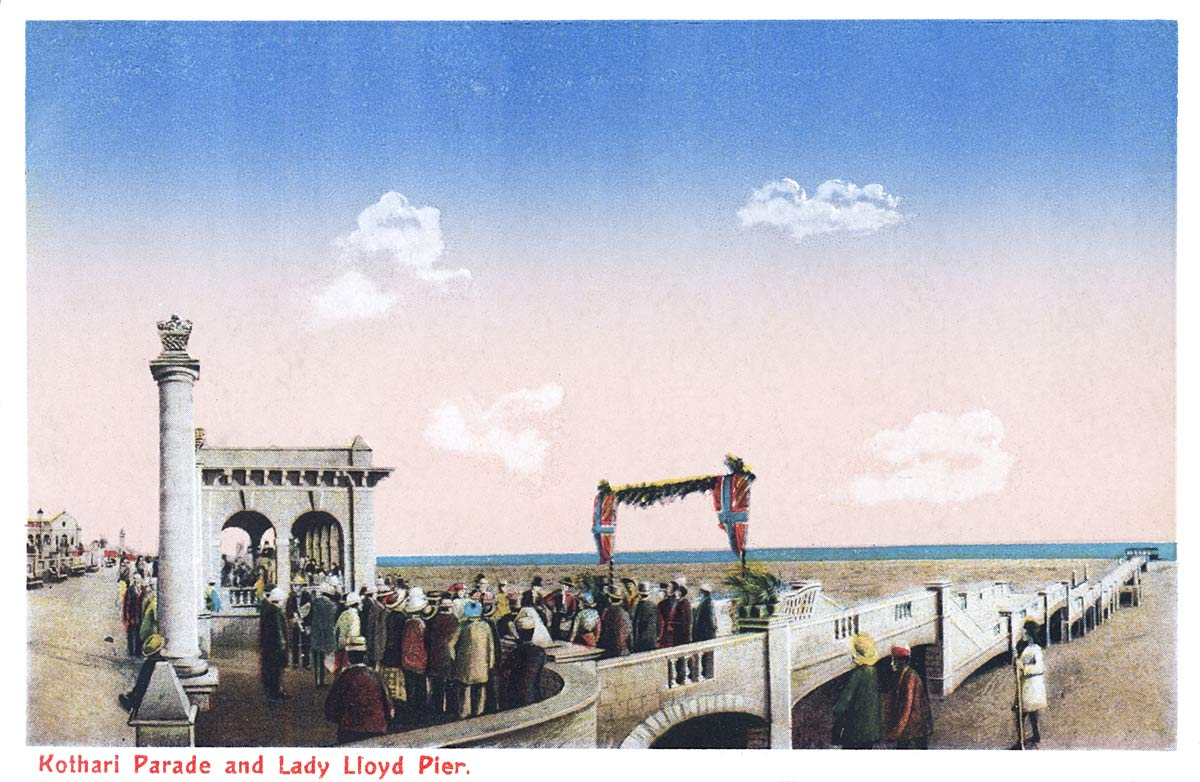 Kothari Parade and Lady Lloyd Pier