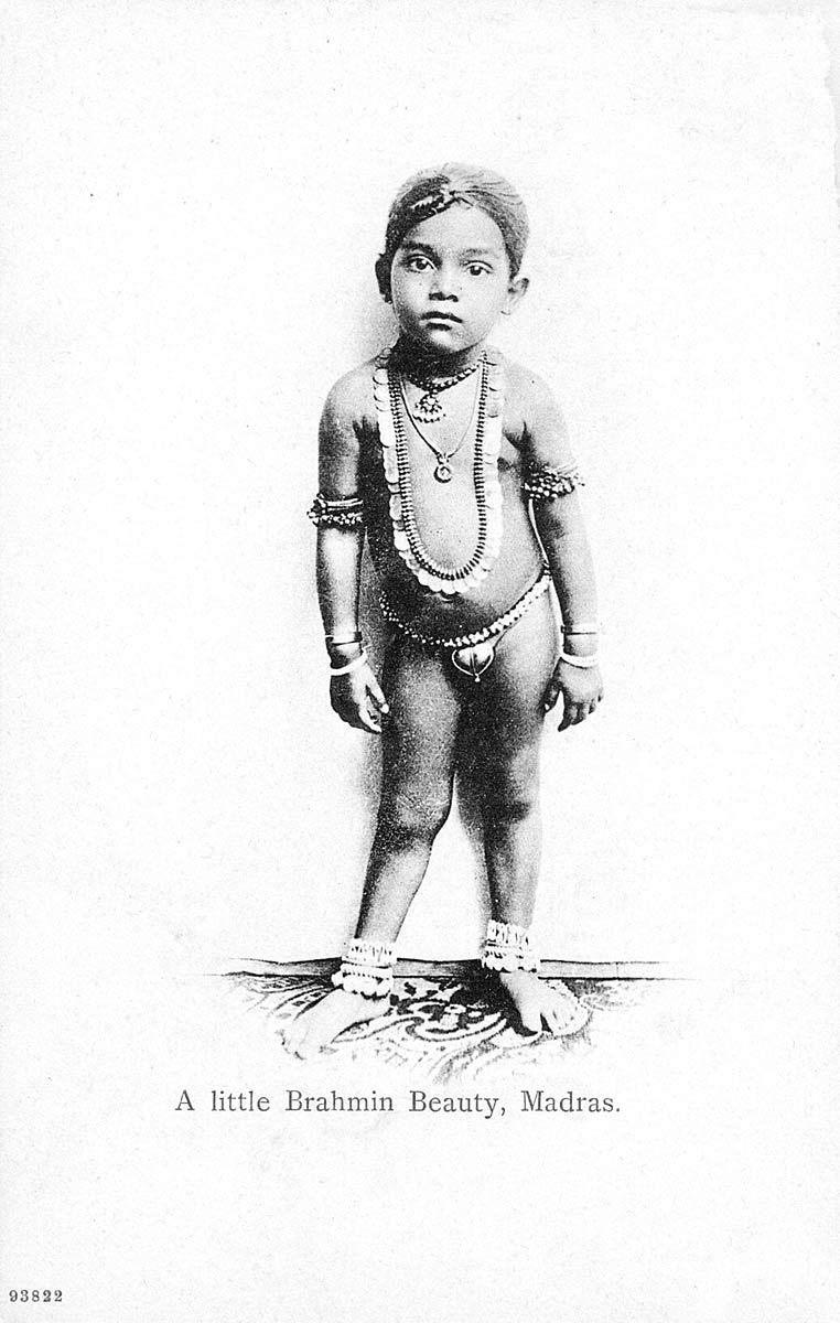 A little Brahmin Beauty, Madras
