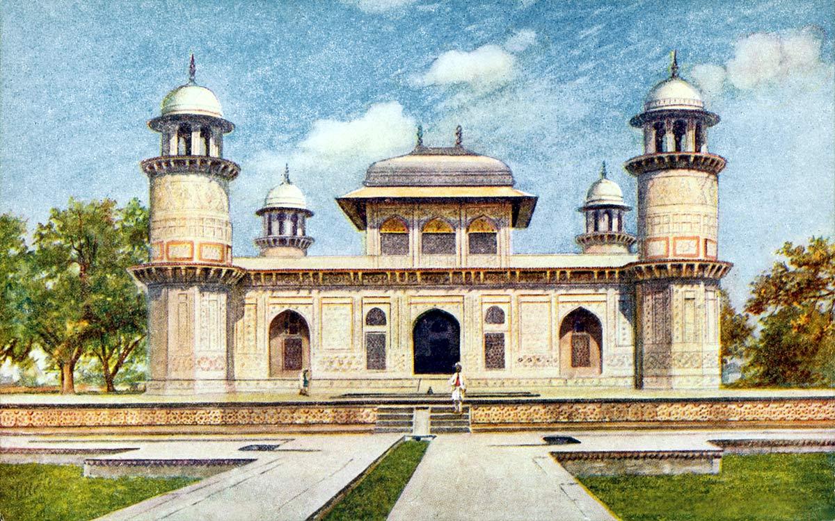 Tomb of Etamad-ud-Dowla, Agra.