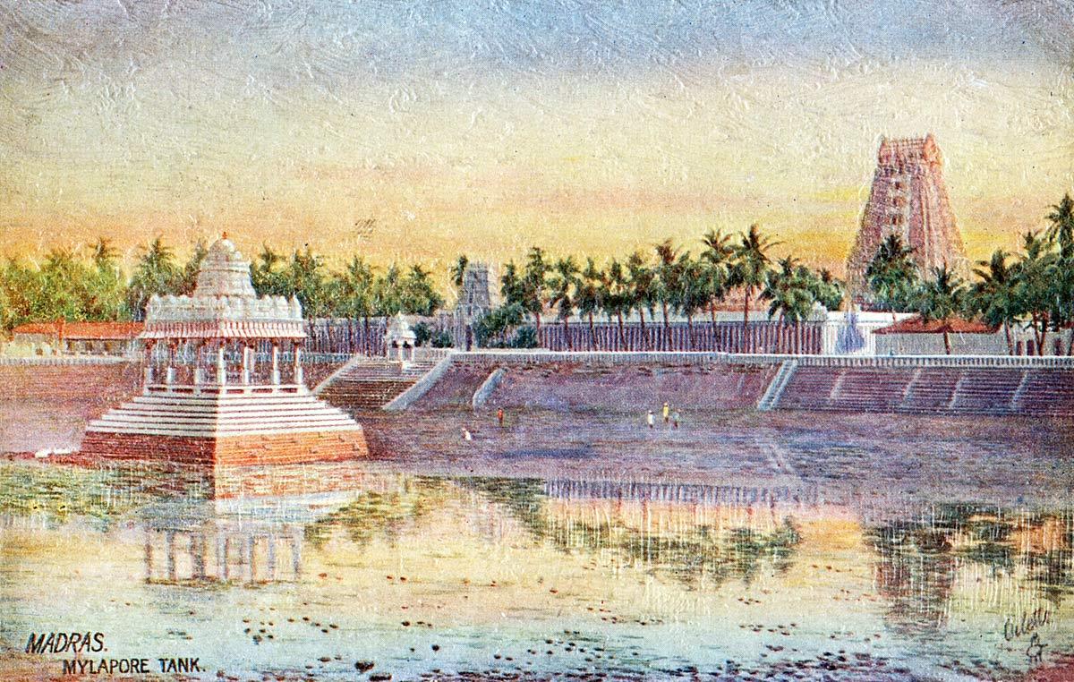 Mylapore Tank - Madras