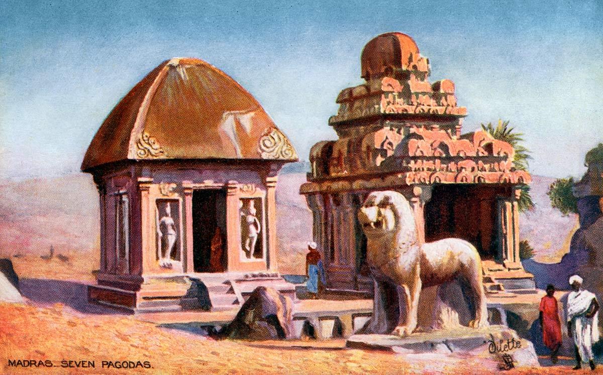 Madras, Seven Pagodas