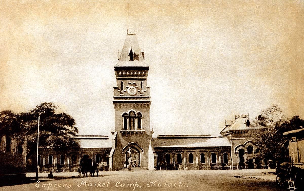 Empress Market Camp, Karachi