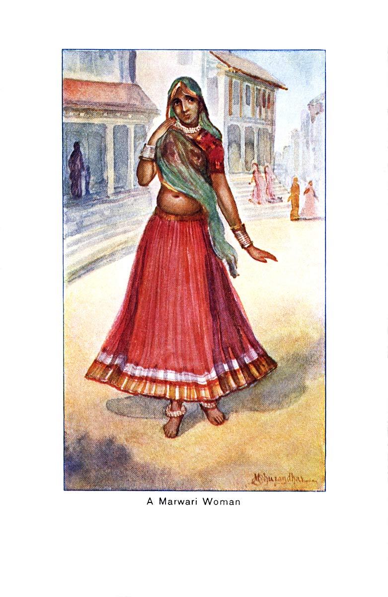 A Marwari Woman