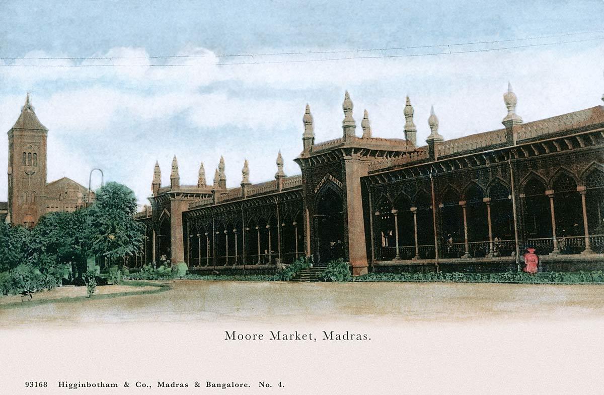 Moore Market, Madras