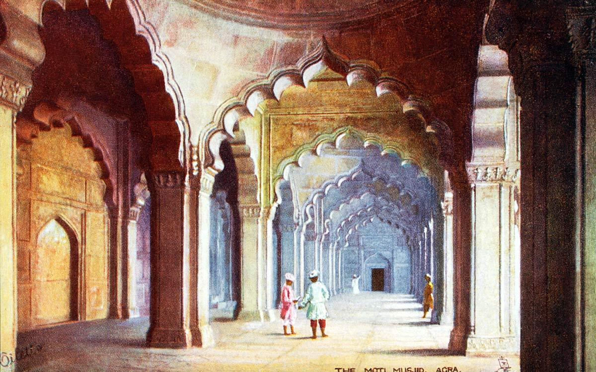 The Moti Musjid Agra