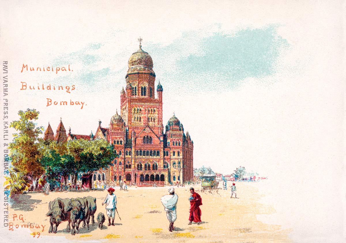 Municipal Buildings Bombay