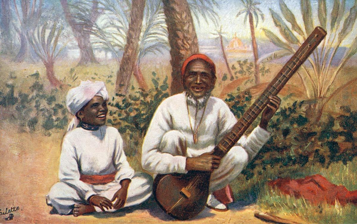 A Native Musician. Peshawar