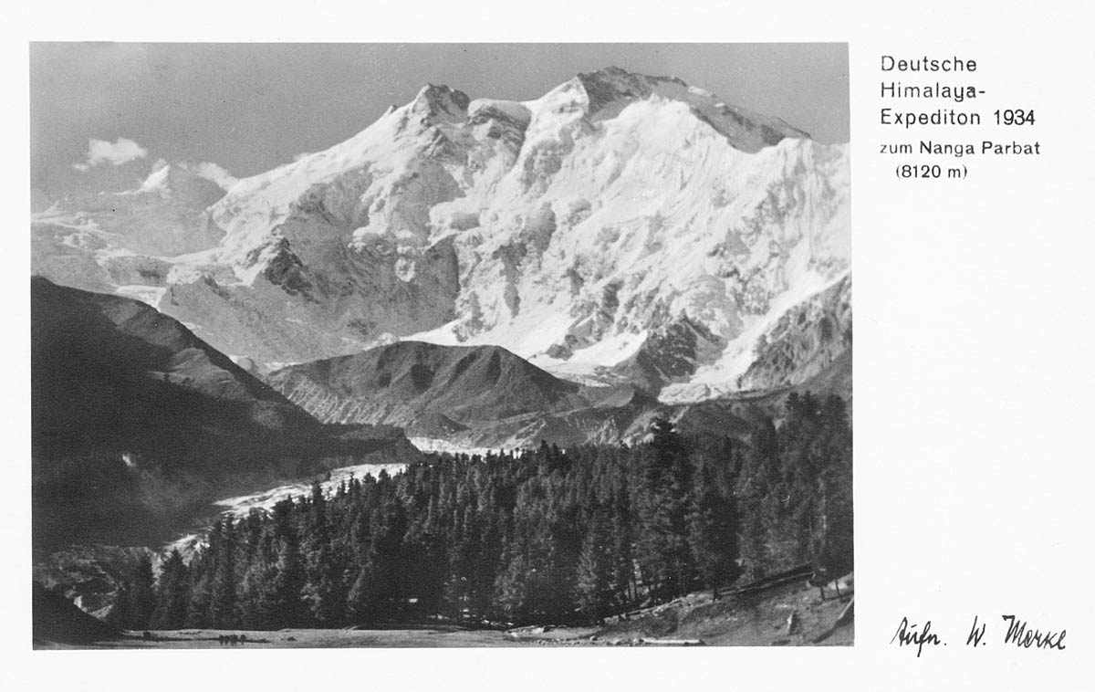 German Himalaya Expedition to Nanga Parbat 1934 (8120 meters)