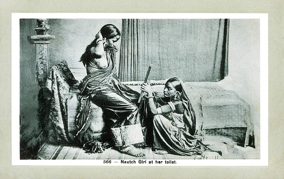 Nautch Girl at her toilet
