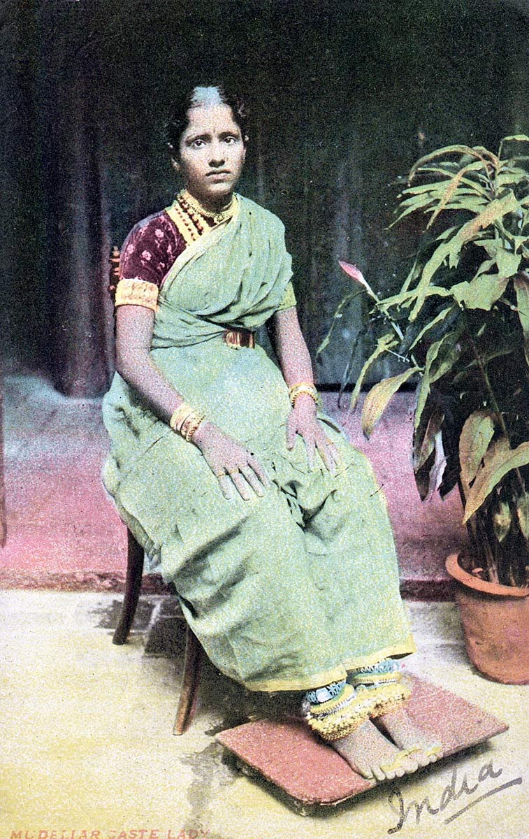 Mudellar [Mudaliar] Caste Lady