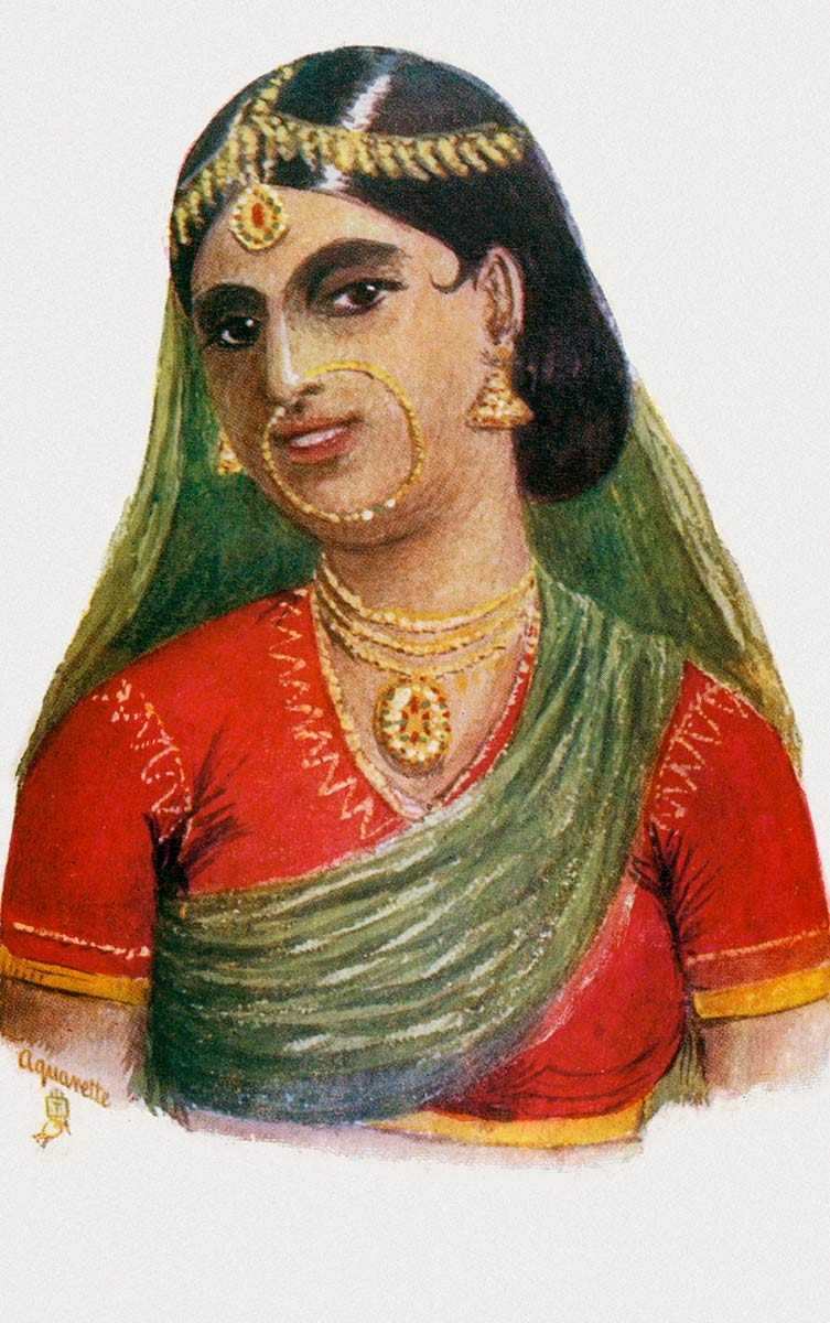 Zuhoorun (Nautch-Girl).