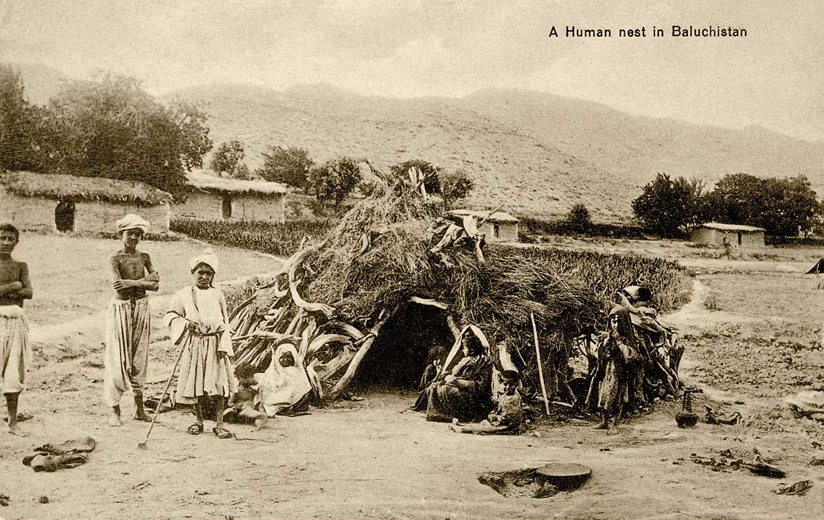 A Human nest in Baluchistan
