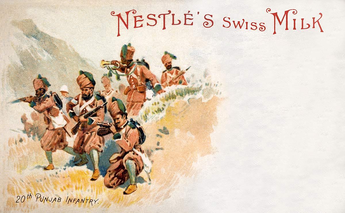 Nestle's Swiss Milk 20th Punjab Infantry