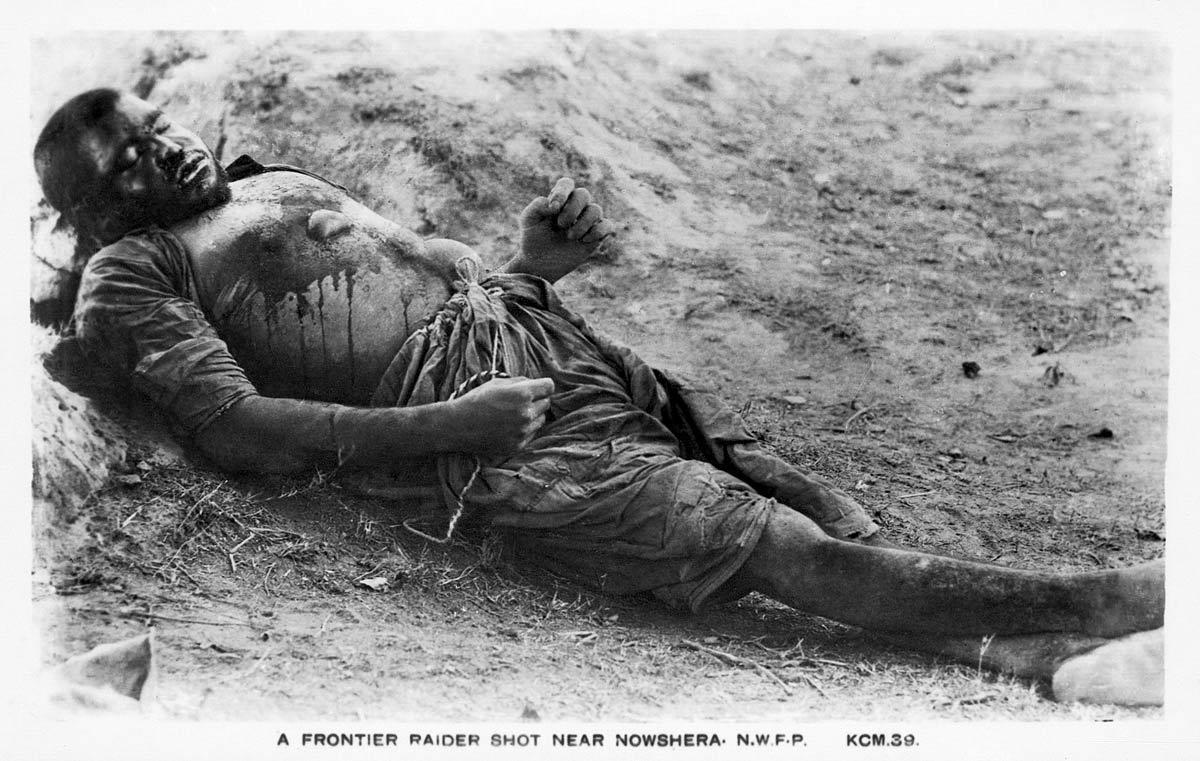 A Frontier Raider Shot Near Nowshera N.W.F.P.