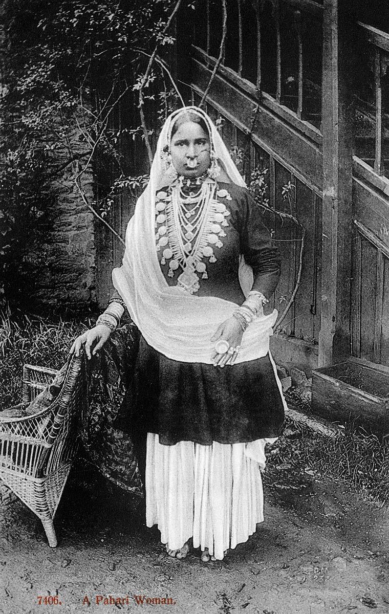 A Pahari Woman