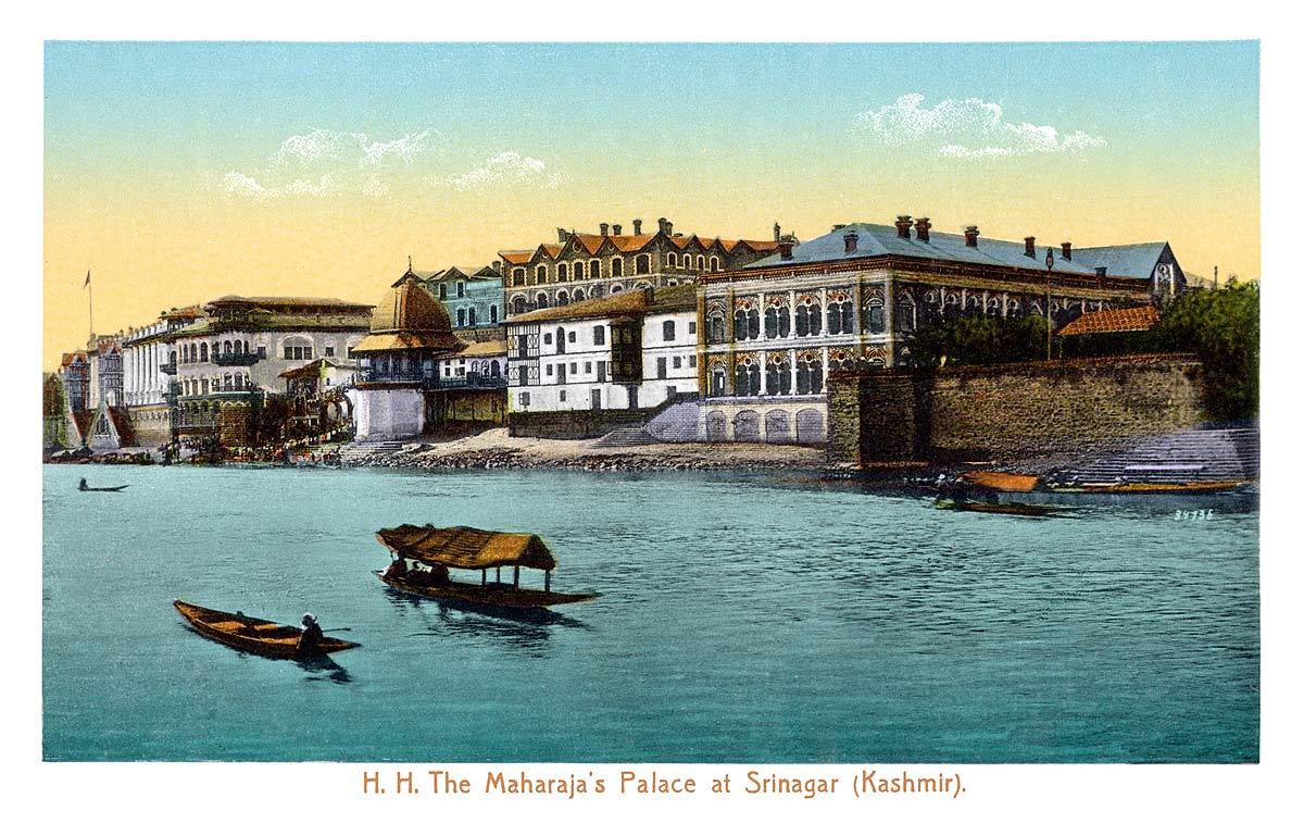 H.H. The Maharaja's Palace at Srinagar (Kashmir)
