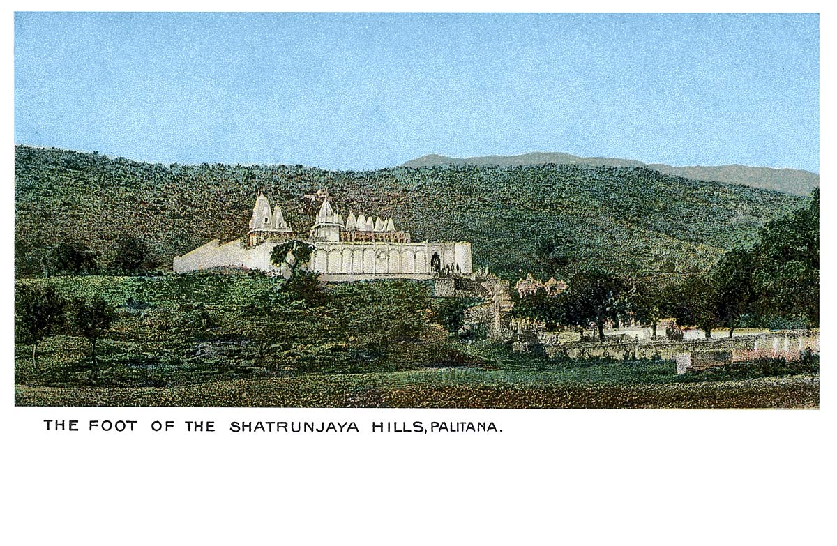The Foot of the Shatrunjaya Hills, Palitana