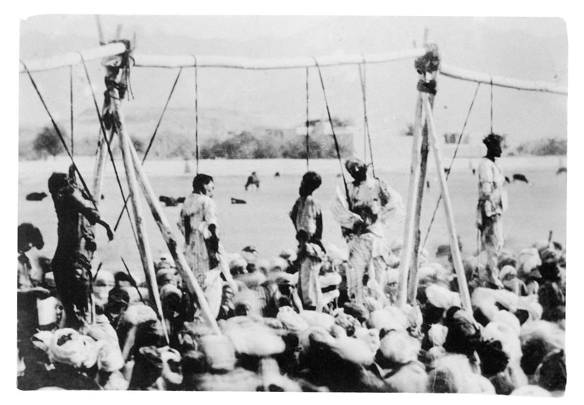 Hanging of Rioters, Peshawar