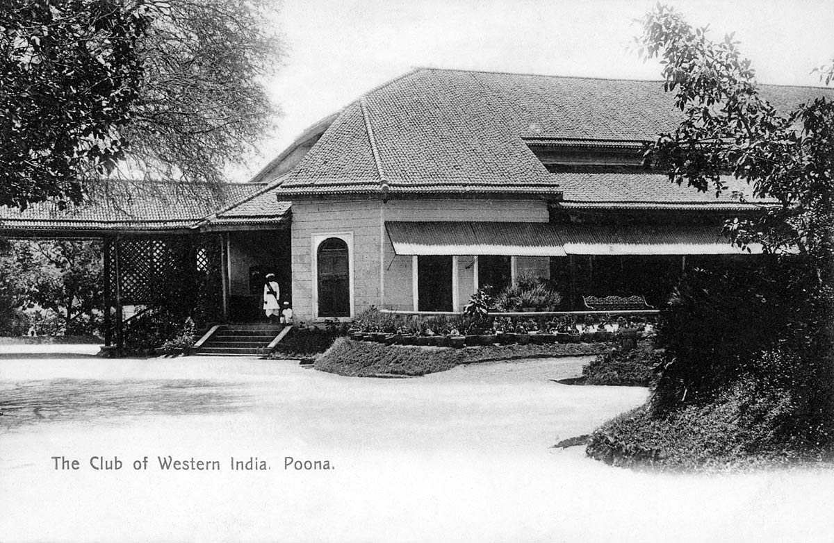 The Club of Western India. Poona