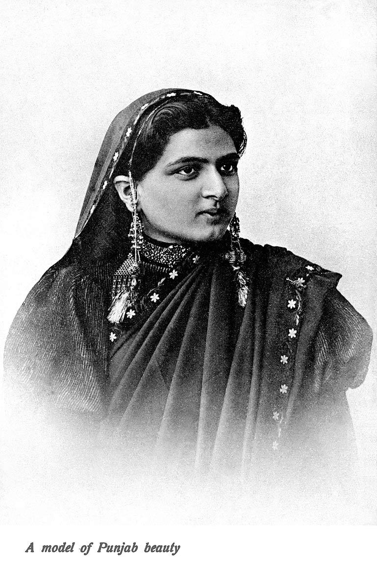 A model of Punjab beauty