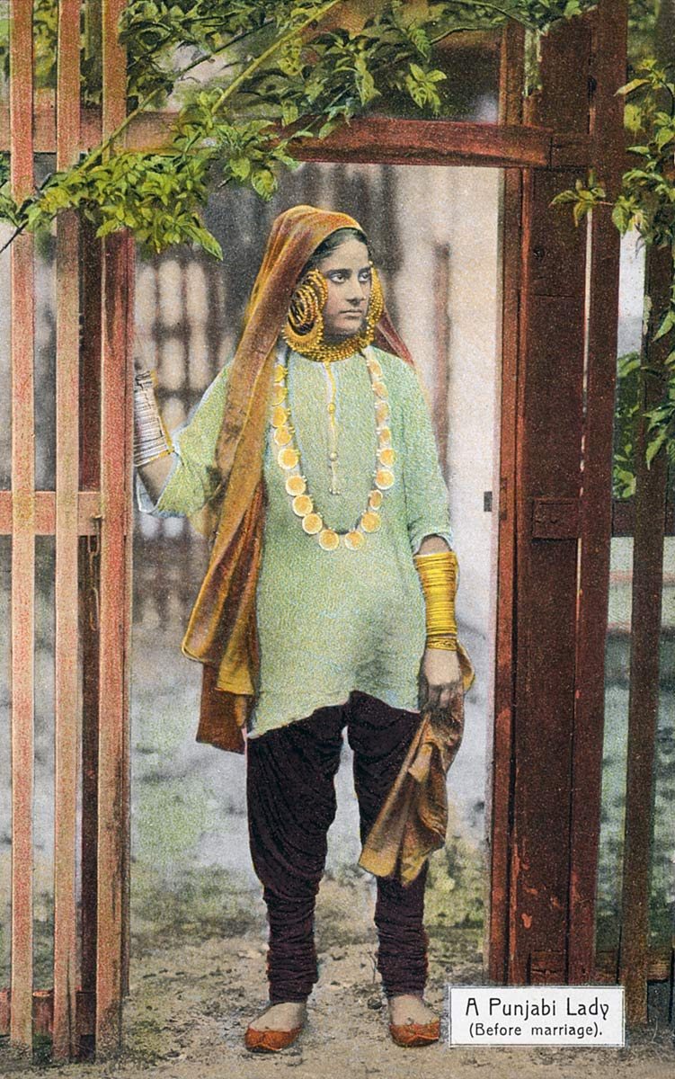A Punjabi Lady (Before marriage)