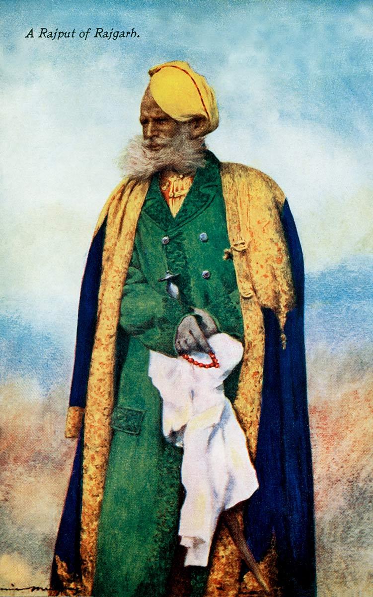 A Rajput of Rajgarh