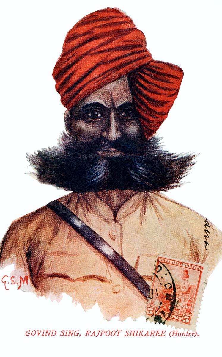 Govid Sing, Rajpoot Shikaree (Hunter)