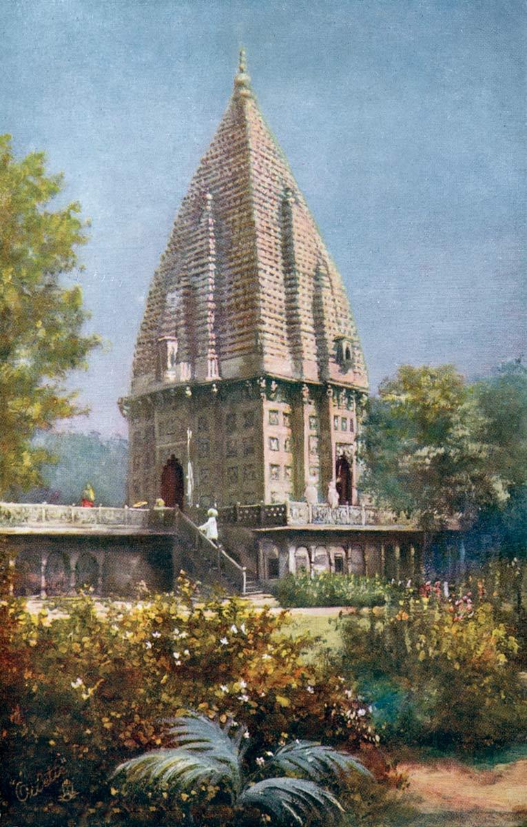 Temple at Ramnagar, Benares