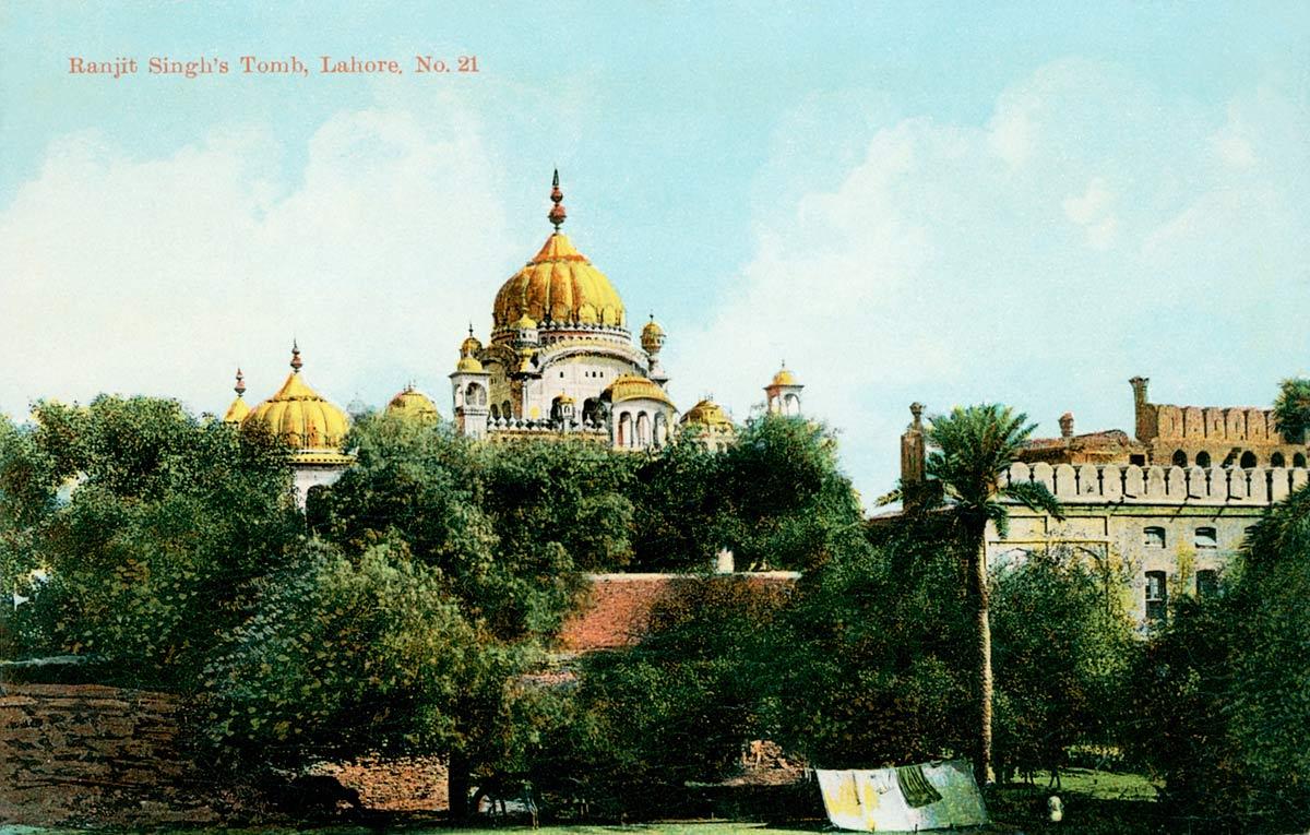 Ranjit Singh's Tomb, Lahore