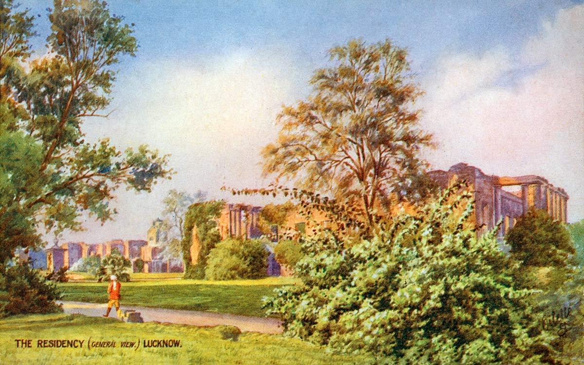 The Residency (General View) Lucknow