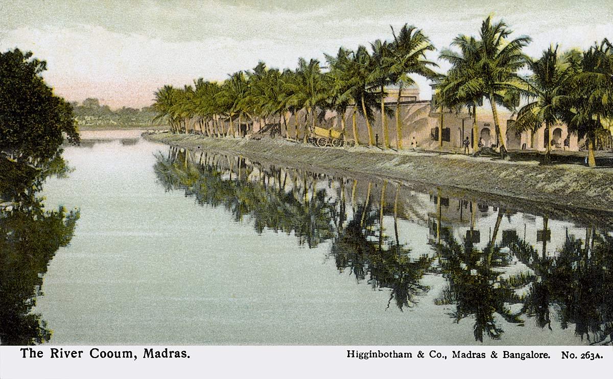 The River Cooum, Madras